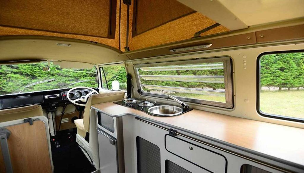 VW Ecowagon Conversion Bay Interior