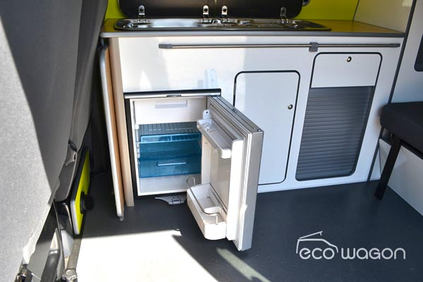 Ecowagon Waeco Fridge Installation