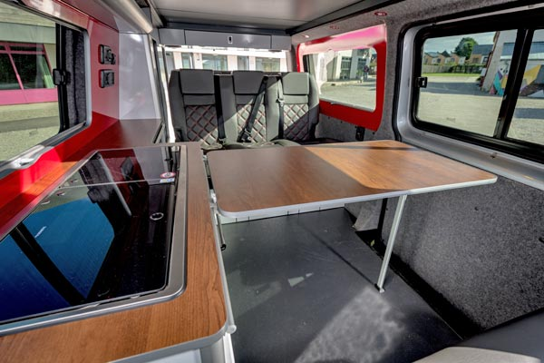 Ecowagon Custom VW Transporter Interiors