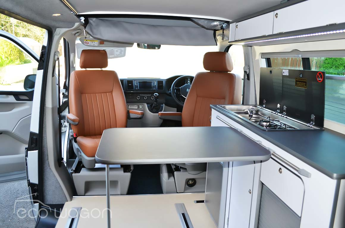 VW T5 conversion table system