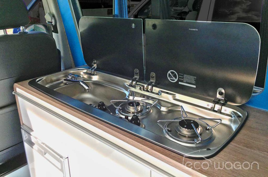 VW T6 Dometic Smev combined sink and hob