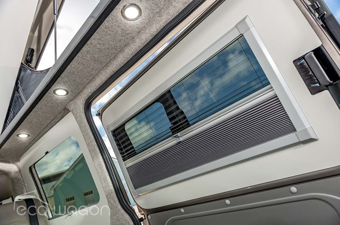 VW T6 custom blinds by Ecowagon