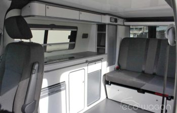 VW Transporter White Interior