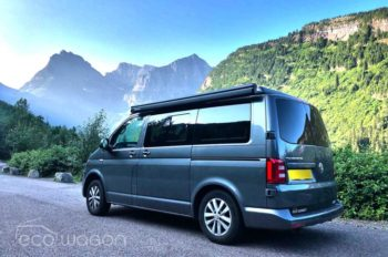 VW Transporter On USA Tour