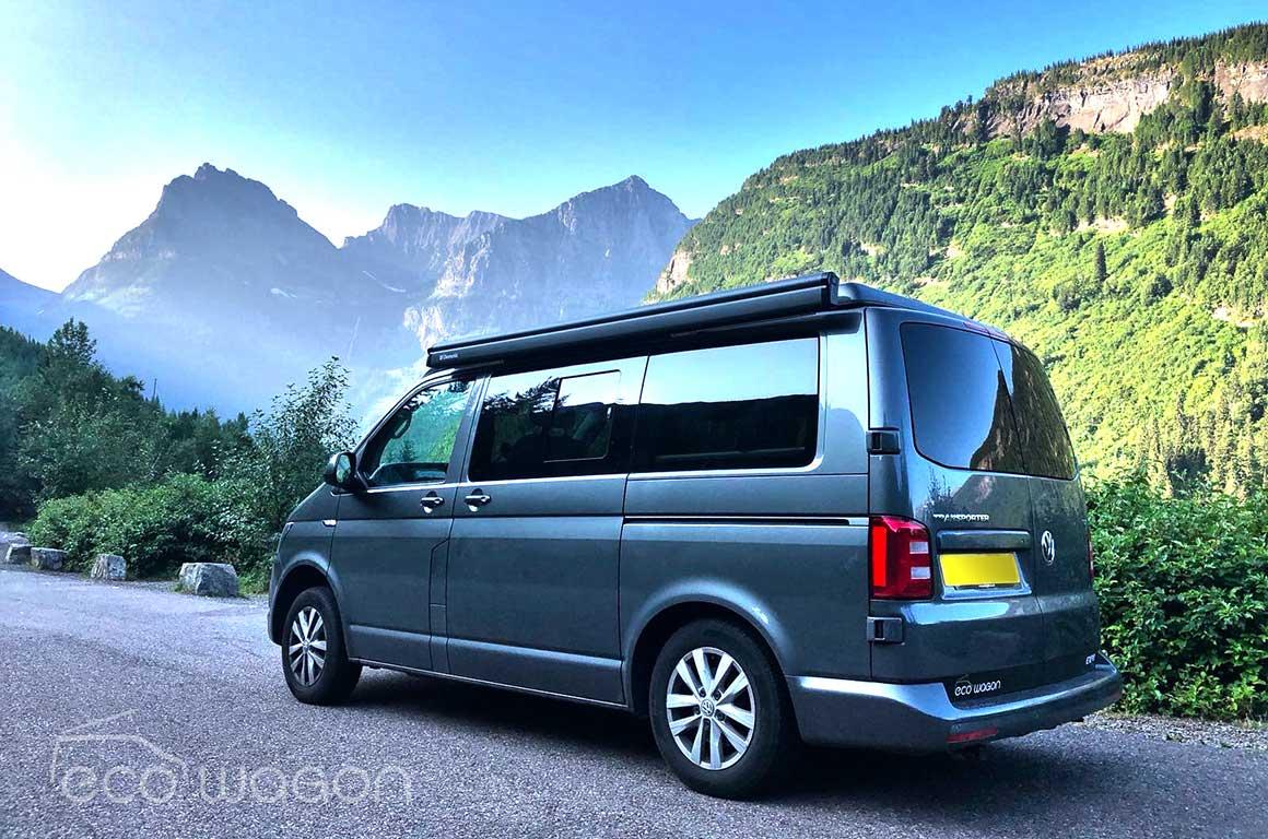 VW Transporter On USA Tour