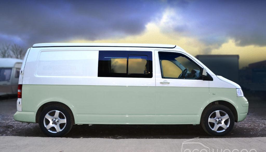 Amazing custom VW Transporter