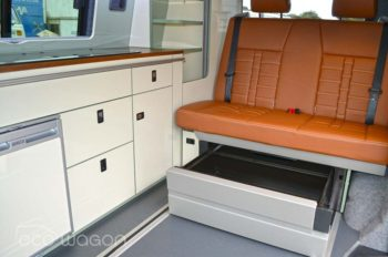 Ecowagon Expo Plus VW Transporter Interior