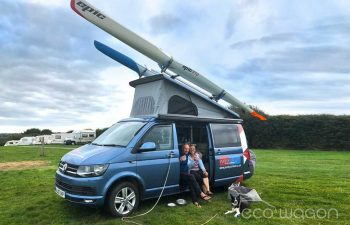 Enjoying A Day Out In A Custom Campervan