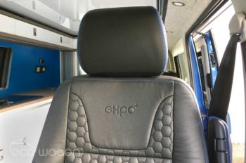 Expo Plus VW conversion custom leather seats