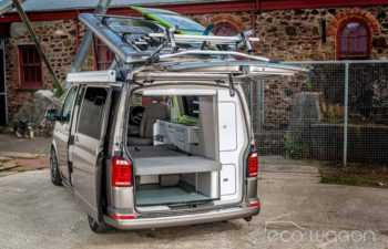 Kitted out VW Transporter