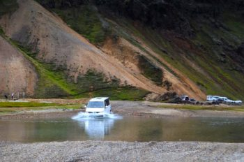 VW Transporter Conversion lake challenge