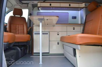 VW Transporter Leather Interior