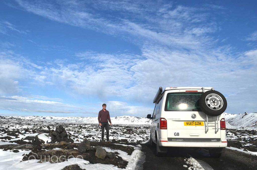 VW Transporter Trip to Iceland