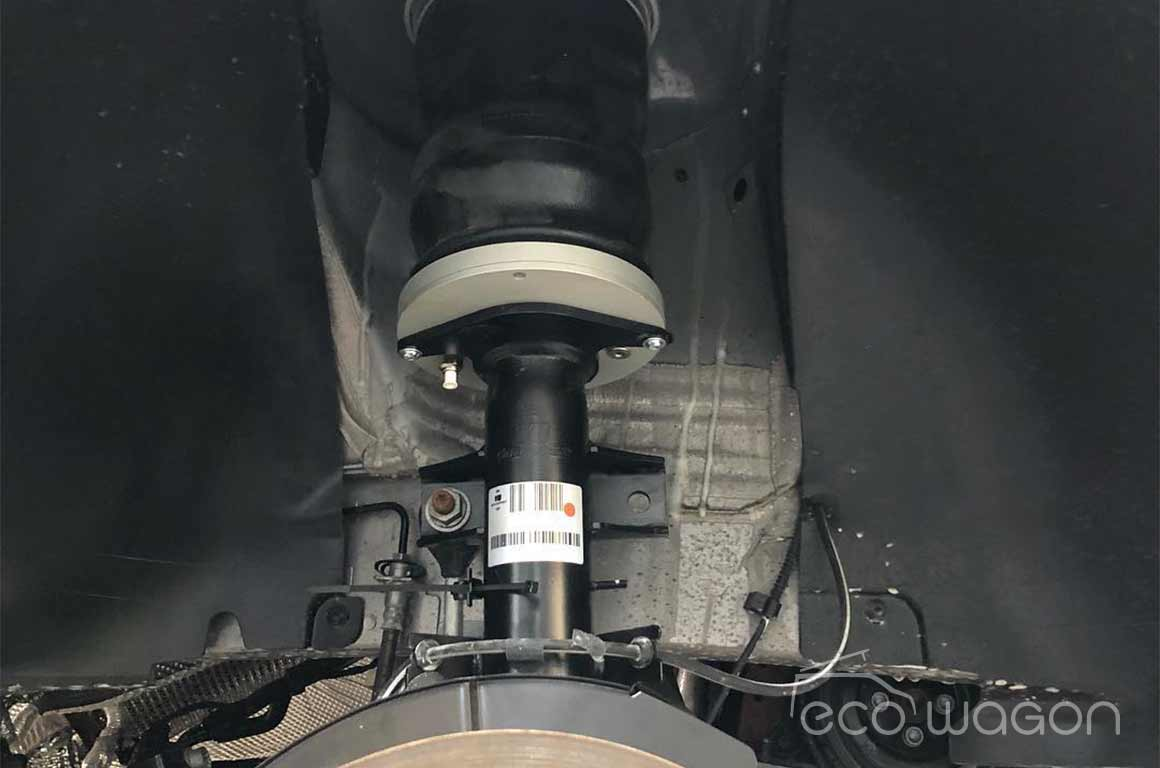 Air suspension for VW Transporter