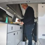 Cooking in a VW T6