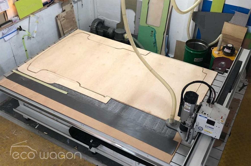 Ecowagon CNC routing