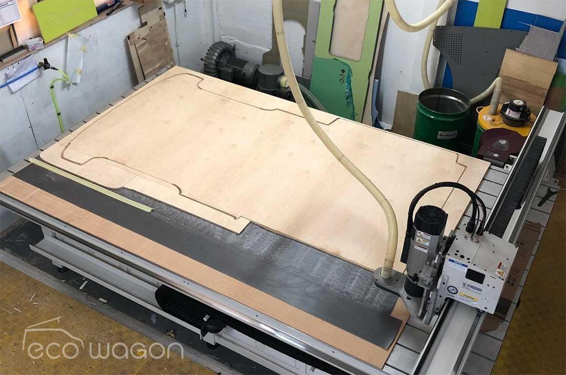 Ecowagon CNC routing