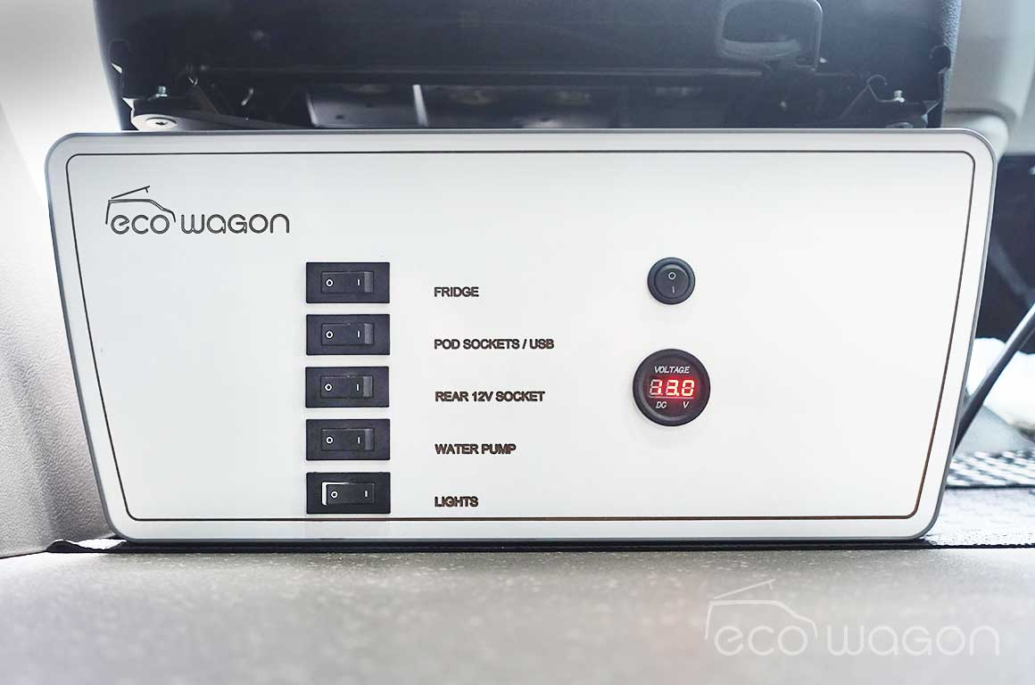 Ecowagon VW Transporter power controller