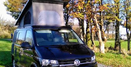 Ecowagon VW Camper On Dartmoor