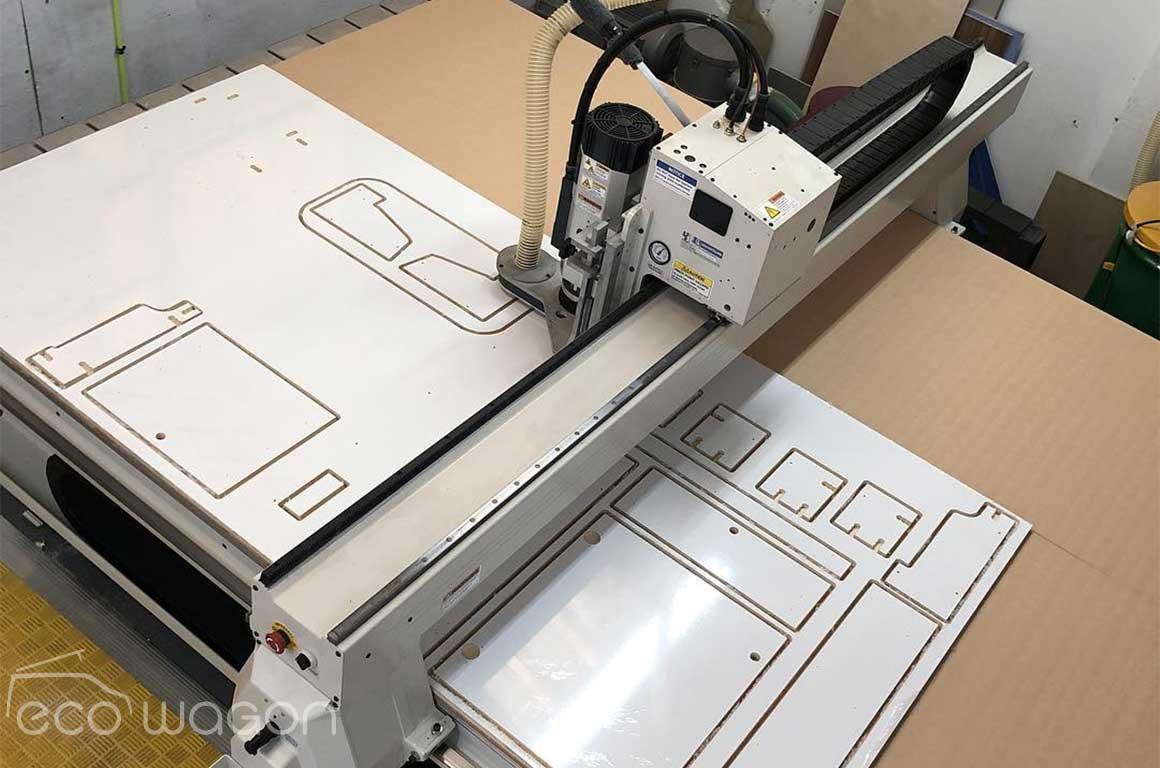 Ecowagon precision components