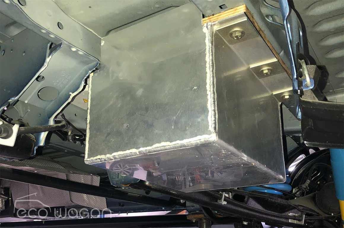 Ecowagon sturdy underslung battery box