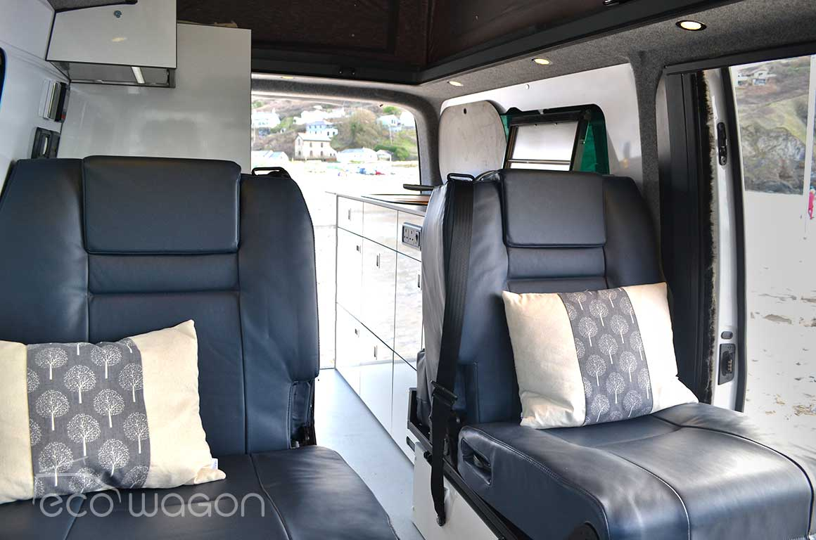 LWB T6 Transporter Leather Seats