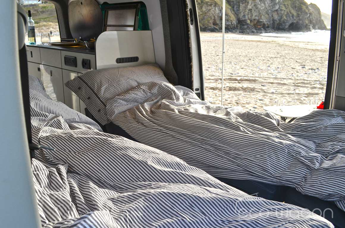 LWB T6 Transporter Sleeping