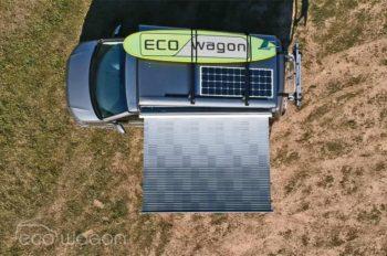 Solar panel for VW Transporter