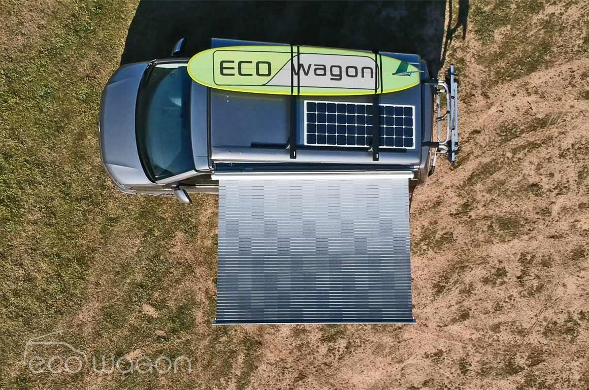 Solar panel for VW Transporter
