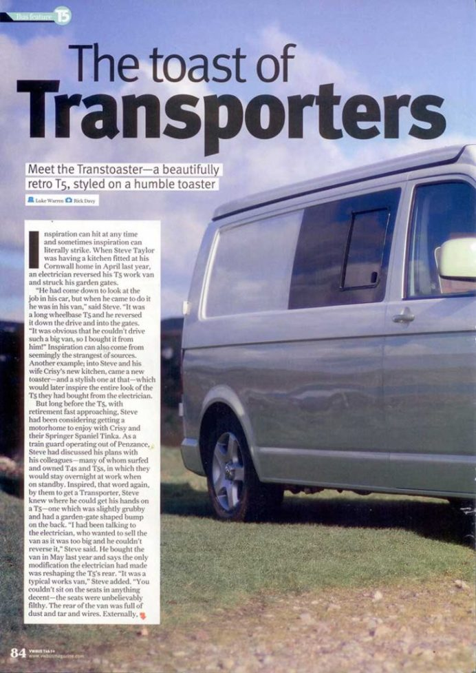 VW Bus Issue 38 Ecowagon T5 Conversion