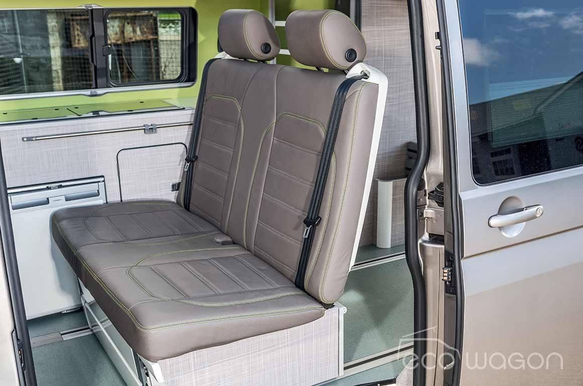 VW California rear leather seats