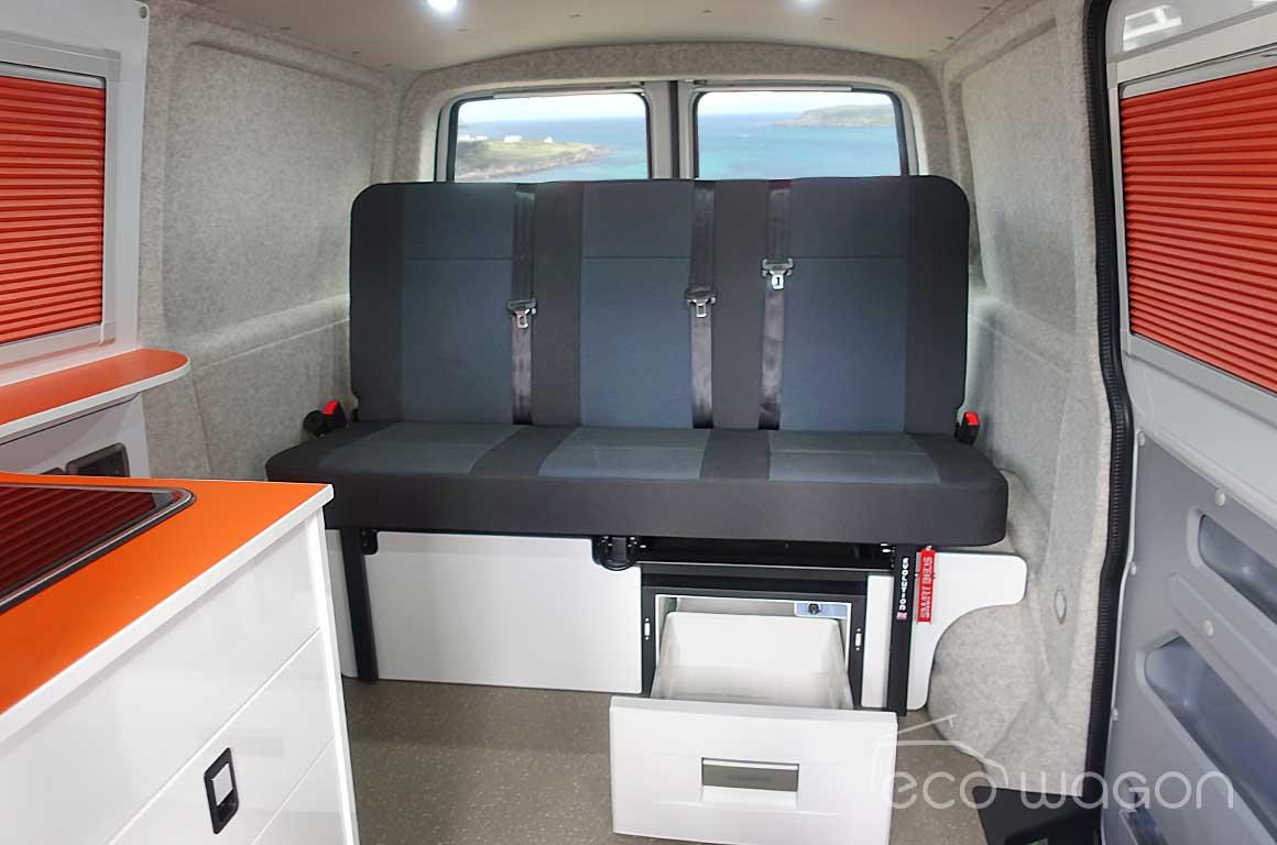 VW Day Van Storage Solution