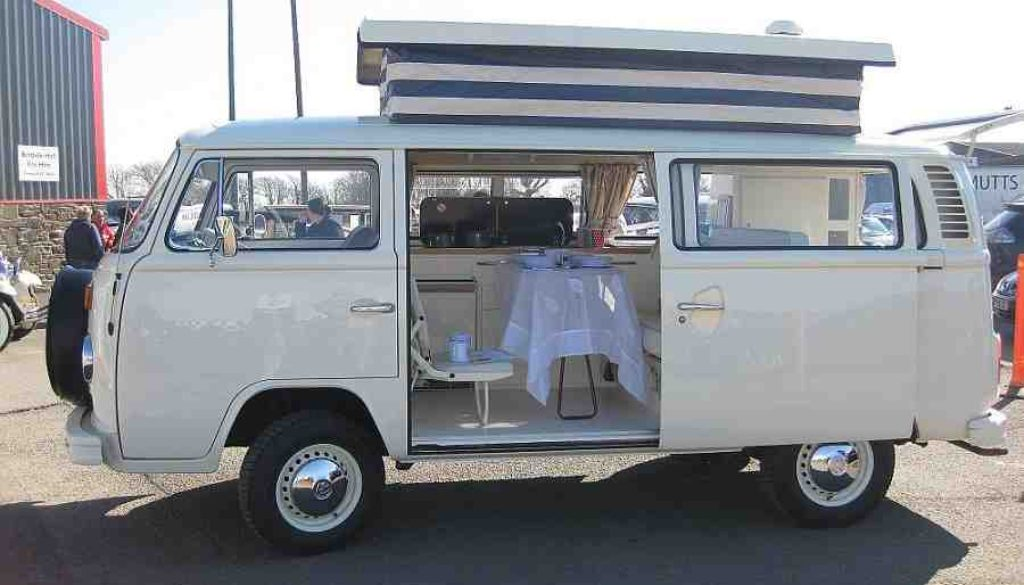 VW T2 campervan conversion