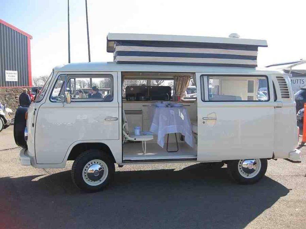 VW T2 campervan conversion