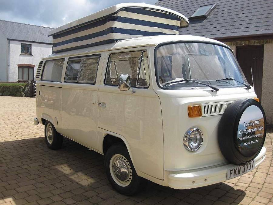 VW T2 campervan