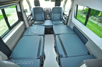 VW Transporter Single Beds