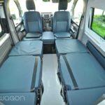 VW Transporter Single Beds