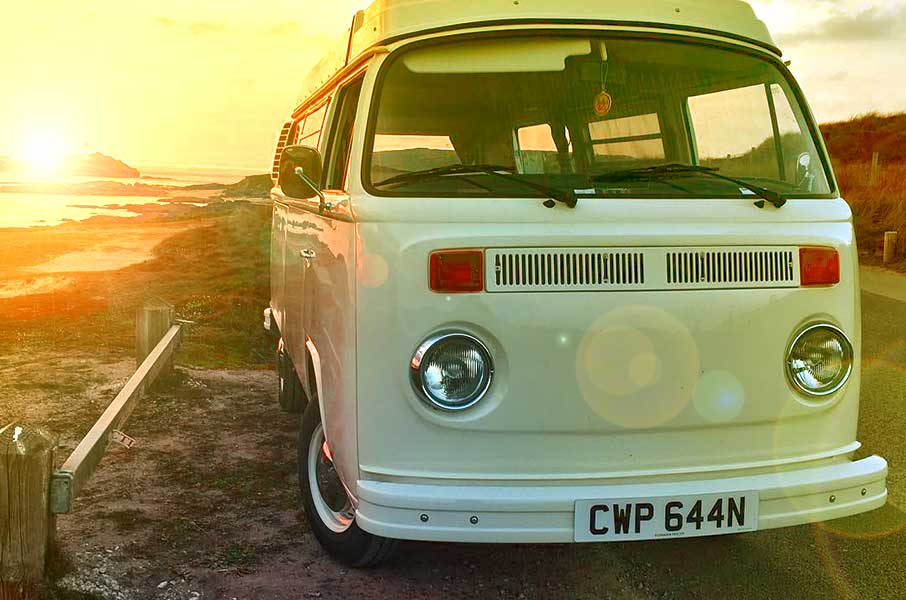 VW Bay Window Type 2 In Cornwall