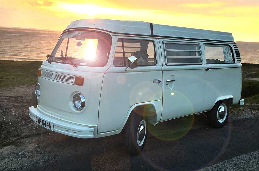 VW Bay Window Type 2 Sunset