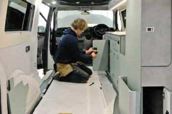 VW camper conversions Cornwall