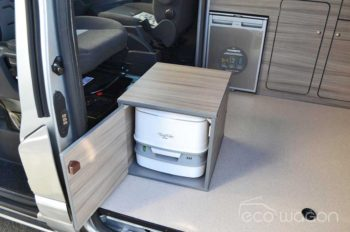 VW conversion optional toilet