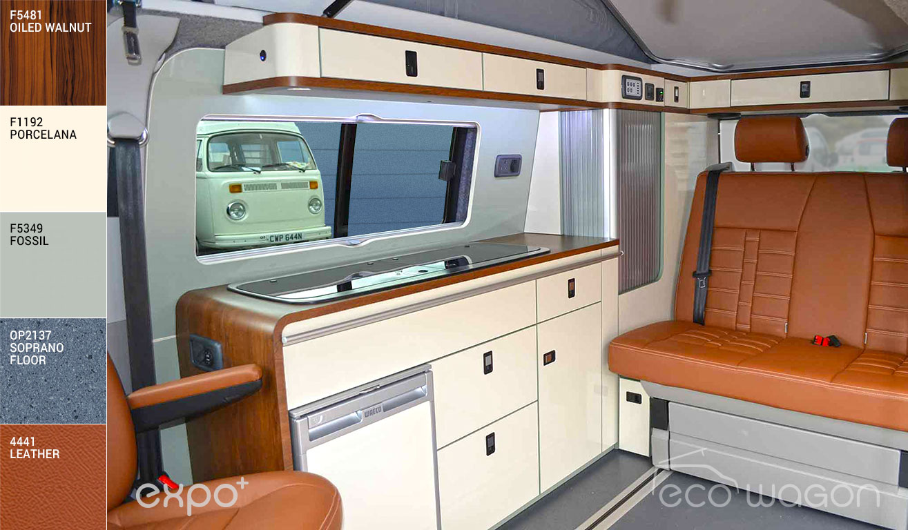 VW Transporter Warm Hues Interior