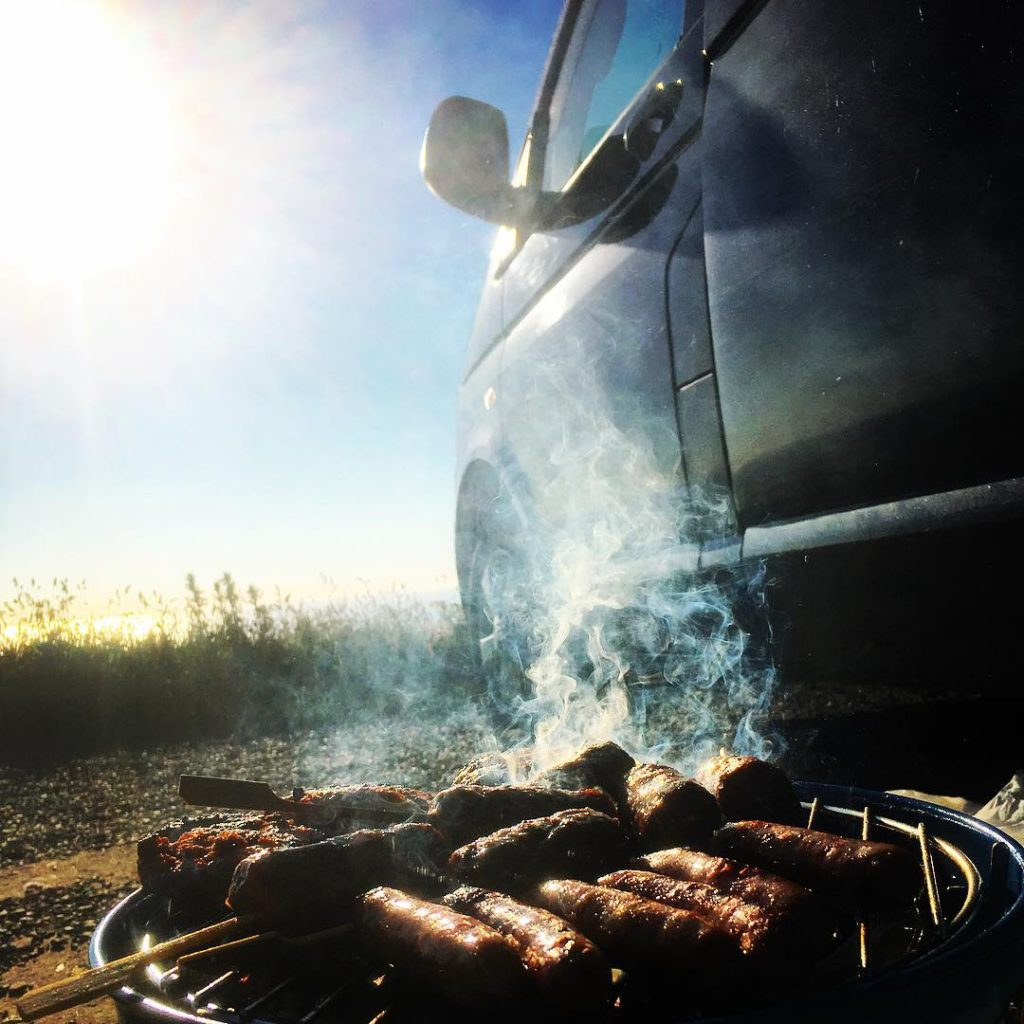 Campervan Barbecue