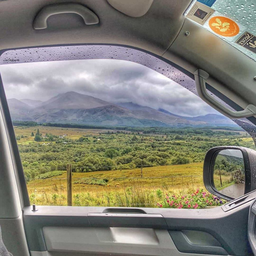 View from your VW camper van? Good isn't it.