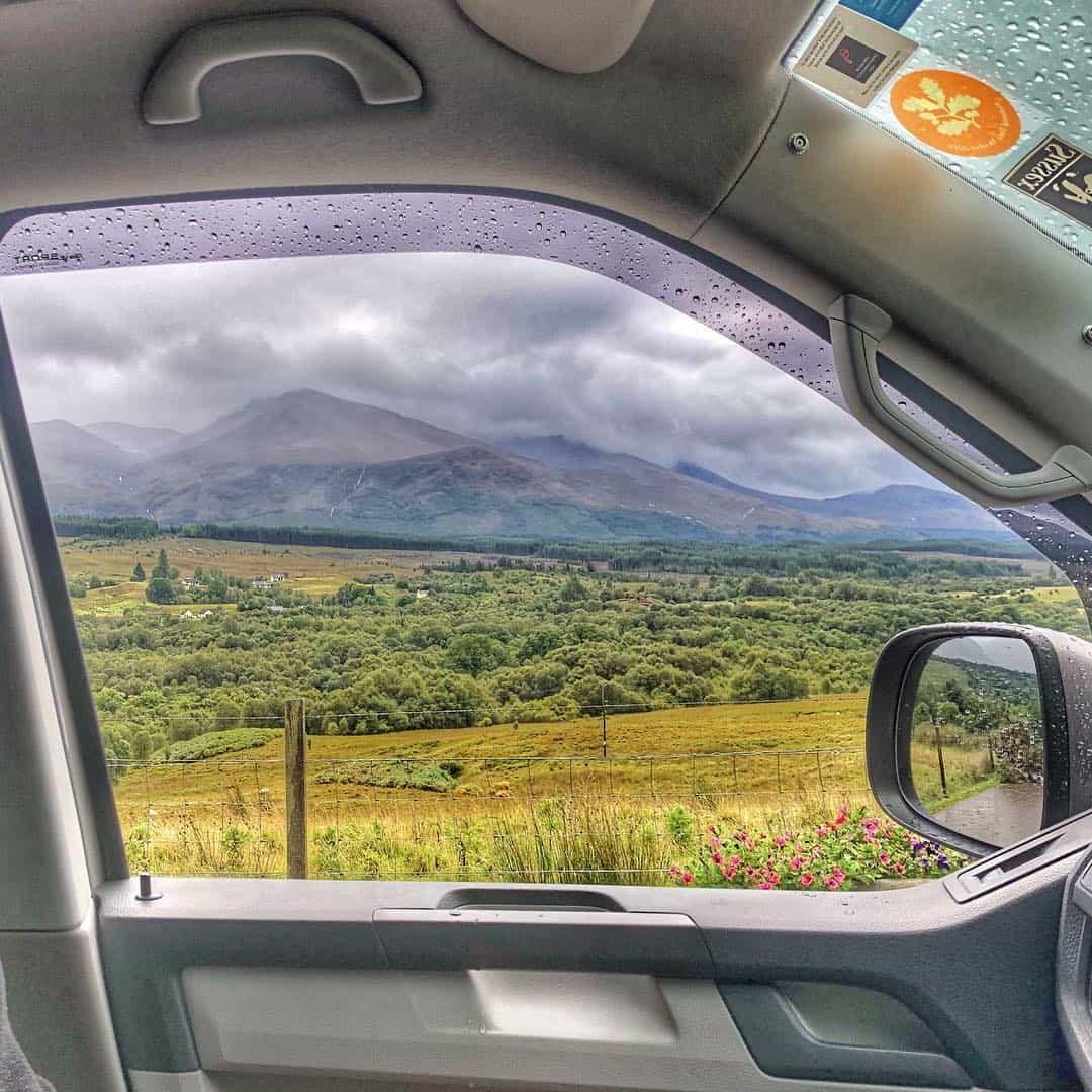 View from your VW camper van? Good isn't it.