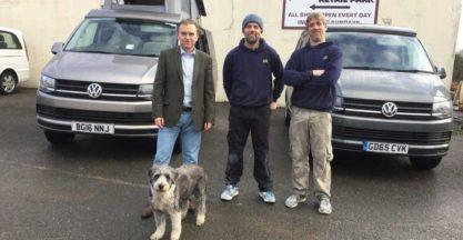 George Eustace Visits Ecowagaon Vw Conversions Cornwall