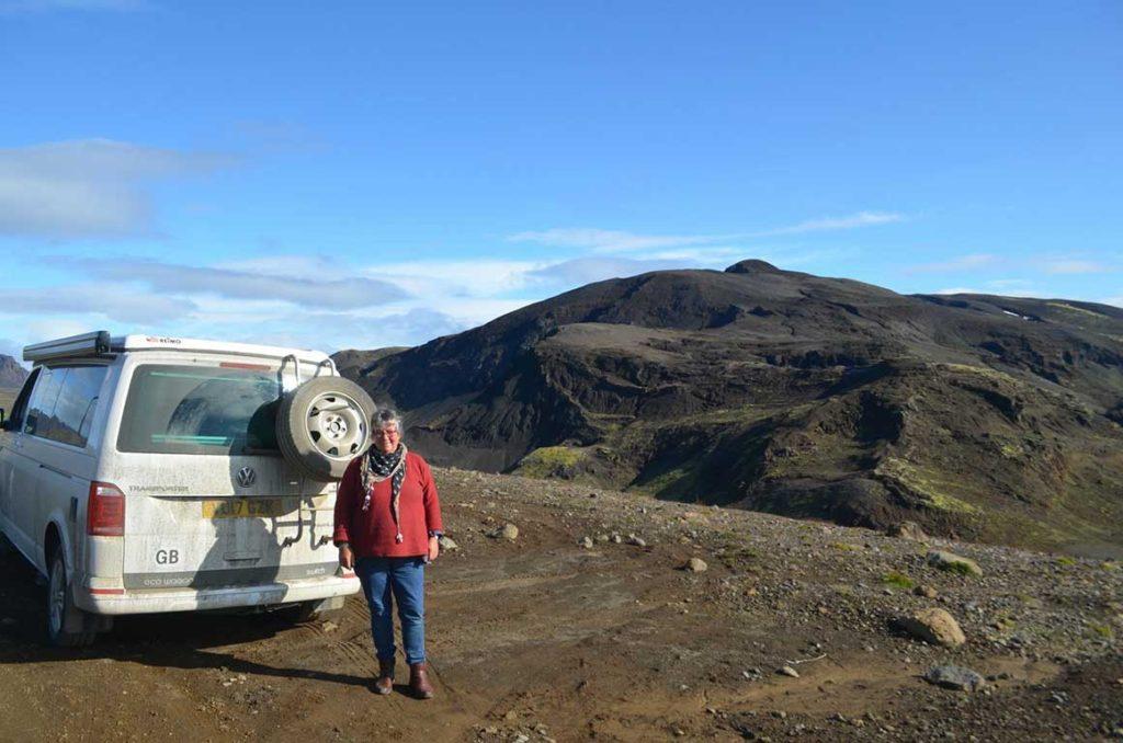 Jackie Jeff Iceland Trip Vw Camper