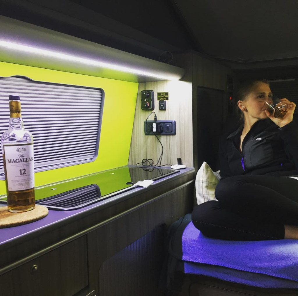 Wee Dram In Our Campervan