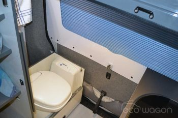 LWB VW T6 Conversion Toilet