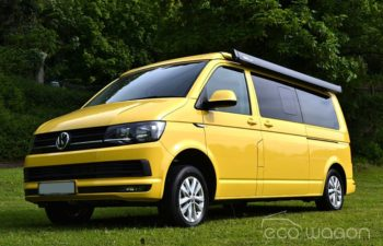 Yellow VW T6 Conversion